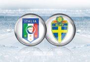 Itália v Suécia - Futebol com Valor