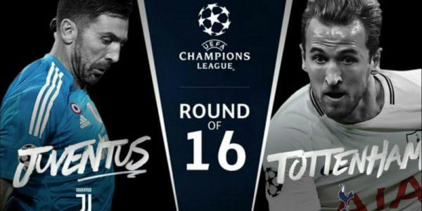 Juventus vs Tottenham - Prognóstico - Champions League - Está de regresso a liga milionária, e com ela as grandes emoções numa das mais prestigiadas ligas do mundo! Estamos nos oitavos de final, e aqui apenas têm lugar os melhores! O sorteio ditou um grande jogo no Juventus Stadium.