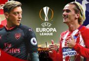 Prognóstico para o Arsenal vs Atlético de Madrid • Uma meia final da Liga Europa, o Atlético de Madrid terá a missão de parar o ataque do Arsenal, mas isso poderá ser curto, caso não faça golos. Por isso, antevê-se um jogo com as duas equipas a procurar, no mínimo fazer balançar as redes adversárias...