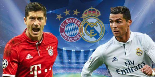 Bayern vs Real Madrid • O sorteio voltou a cruzar os dois favoritos a vencer a liga dos campeões, nesta edição. Bayern e Real Madrid têm sido, invariavelmente, ano após ano, dois dos maiores candidatos à conquista da Liga dos Campeões. O Bayern o é um crónico campeão da Bundesliga, o nosso prognóstico é o seguinte...