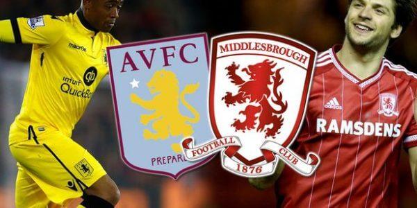 Aston Villa vs Middlesbrough