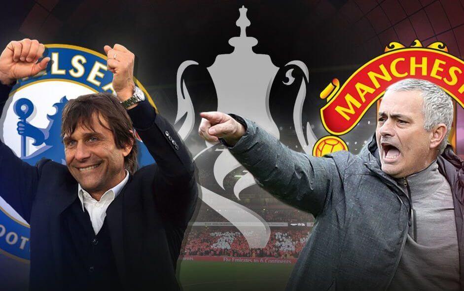 Chelsea vs Manchester United FA Cup Final