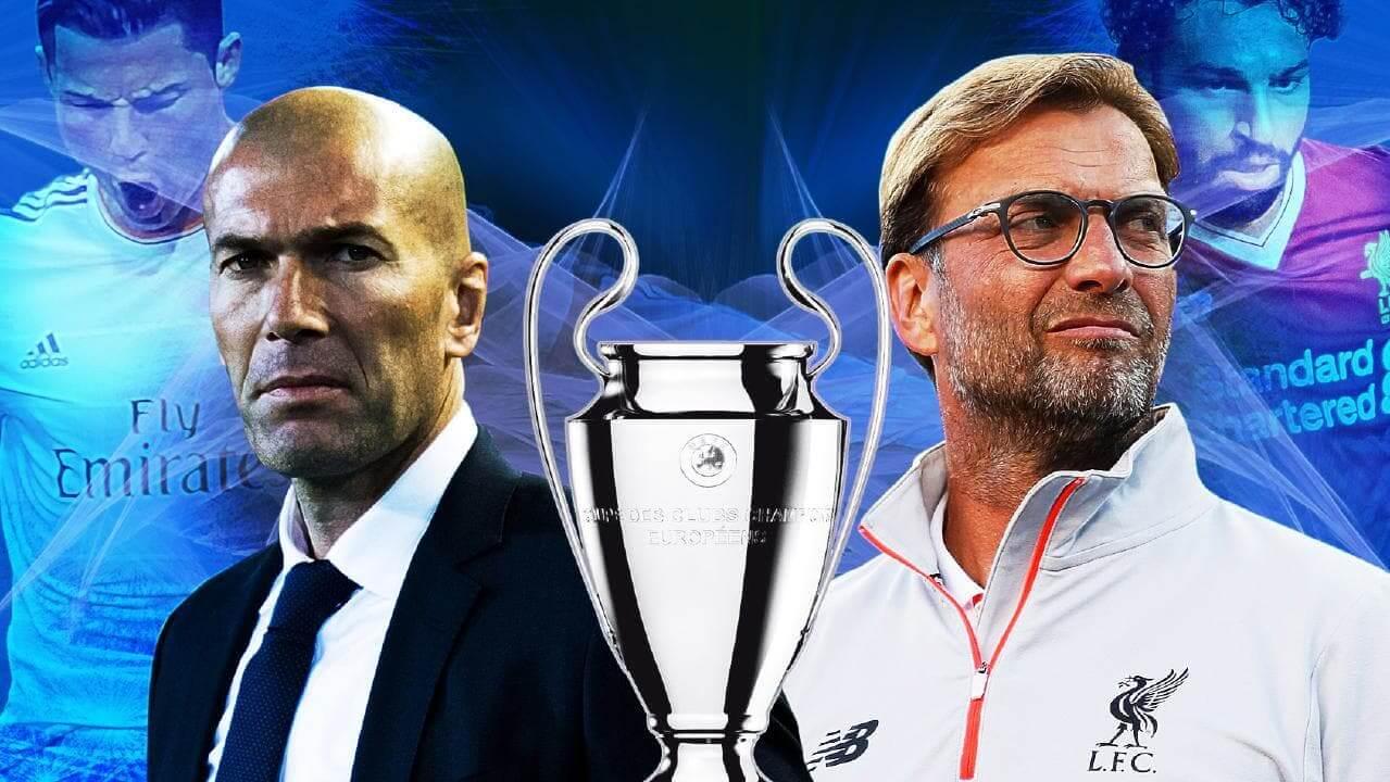 """Real Madrid vs Liverpool • A Liga dos Campeões é a competição mais prestigiante a nível de clubes, em toda a Europa, e este ano voltamos a ter um cliente habitual - o Real Madrid. O Real Madrid foi o vencedor das últimas duas edições, procurando assim o """"tri"""" e recebe o Liverpool... o nosso prognóstico é..."""