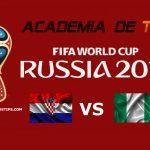 Croácia vs Nigéria – Prognóstico Mundial FIFA 2018