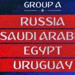 Grupo A Mundial FIFA 2018 (Copa do Mundo) – Antevisão