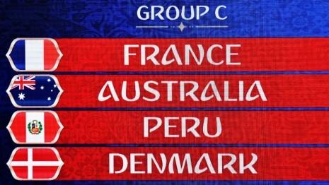 Grupo C Mundial FIFA 2018 •.Começamos pelas palavras de Didier Deschamps quando indicou que França ainda não estava ao nível de Alemanha, Brasil e Espanha.