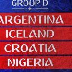 Grupo D Mundial FIFA 2018 • Copa do Mundo • Prognóstico