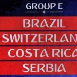 Grupo E Mundial FIFA 2018 • Copa do Mundo • Prognóstico
