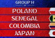 Grupo H Mundial FIFA 2018 • Chegamos ao último grupo do Mundial FIFFA 2018, um grupo que à semelhança do grupo A, não tem nenhuma seleção das mais cotadas.