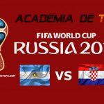 Prognóstico Argentina vs Croácia – Mundial FIFA 2018