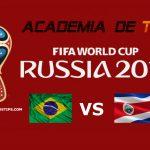 Prognóstico Brasil vs Costa Rica – Mundial FIFA 2018