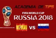 Prognóstico Espanha x Rússia - Mundial FIFA 2018