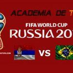Prognóstico Sérvia vs Brasil – Mundial FIFA 2018