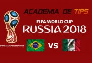 Prognóstico Brasil vs México - O Brasil empatou o primeiro jogo e venceu os dois seguintes.O México venceu os dois primeiros jogos e perdeu o 3º. O México