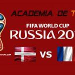 Prognóstico Dinamarca vs França – Mundial FIFA 2018