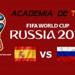 Prognóstico Espanha x Rússia – Mundial FIFA 2018