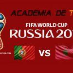 Prognóstico Portugal vs Marrocos – Mundial FIFA 2018