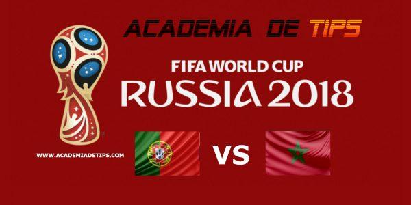 """Prognóstico Portugal vs Marrocos - Mundial FIFA 2018 • O empate de Portugal foi melhor que a exibição, sendo Cristiano Ronaldo, o """"salvador da pátria"""""""