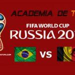 Prognóstico Brasil vs Bélgica – Mundial FIFA 2018