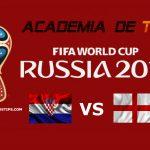 Prognóstico Croácia vs Inglaterra – Mundial FIFA 2018