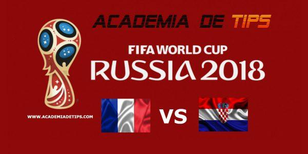 Prognóstico França vs Croácia - Mundial FIFA 2018 - FINAL