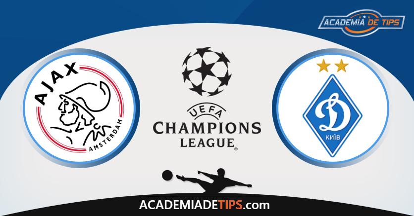 Ajax x Dynamo Kiev - Aposta Simples ou Múltipla Gratuita de Hoje