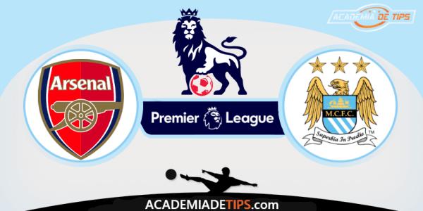 Prognóstico Arsenal vs Manchester City - A Premier League está de volta e com jogo grande. O Arsenal em mudança profunda, recebe o Manchester City campeão,