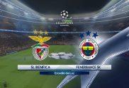 Benfica vs Fenerbahce - UEFA Champions League