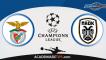 Benfica x PAOK  – Prognóstico – Liga dos Campeões – Apostas Online