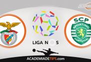 Benfica x Sporting- Prognóstico - Liga NOS - Apostas Online