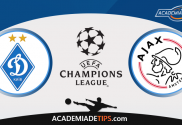 Dinamo Kiev x Ajax - Aposta Simples Gratuita de Hoje - Champions League