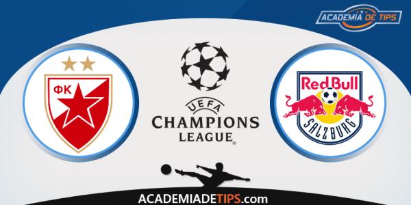 Estrela Vermelha x Red Bull Salzburg- Aposta Simples ou Múltipla Gratuita de Hoje