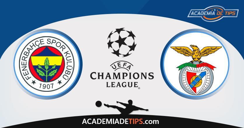 Fenerbahce x Benfica - UEFA Champions League Múltipla
