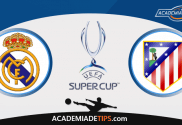 Prognóstico Real Madrid vs Atlético de Madrid - Super Taça Europeia - Apostas Online