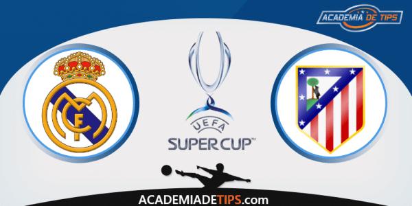 Prognóstico Real Madrid vs Atlético de Madrid - Super Taça Europeia - Apostas Online