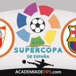 Sevilha vs Barcelona Prognóstico Super Taça de Espanha