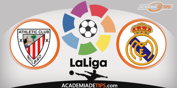 Athletic Club x Real Madrid - Prognóstico - La Liga - Apostas Online