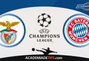 Benfica x Bayern - Prognóstico - Liga dos Campeões