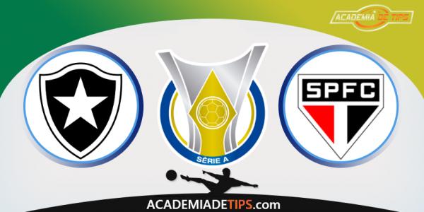 Botafogo x São Paulo, Prognóstico, Analise e Apostas Online