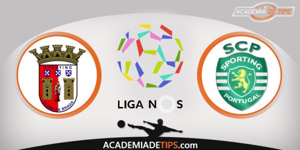 Braga x Sporting, Prognóstico, Analise e Apostas Online