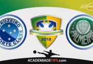 Cruzeiro x Palmeiras, Prognóstico, Analise e Apostas Online