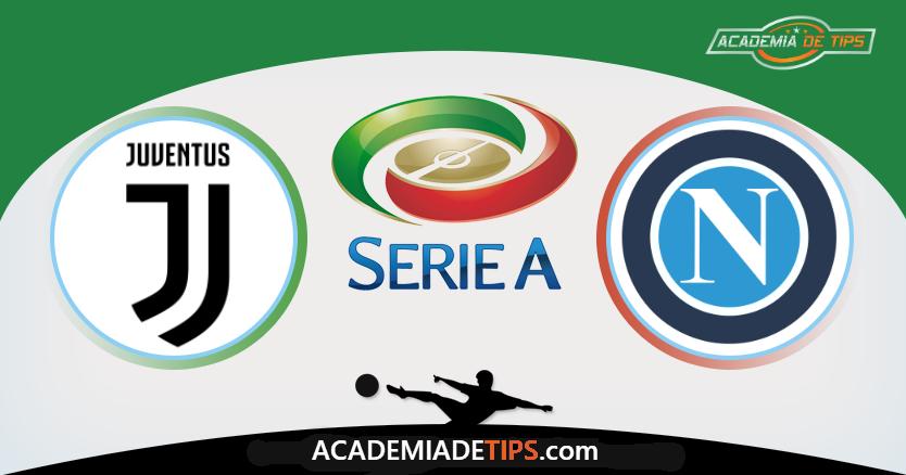 Juventus x Napoli, Prognóstico, Analise e Apostas Online