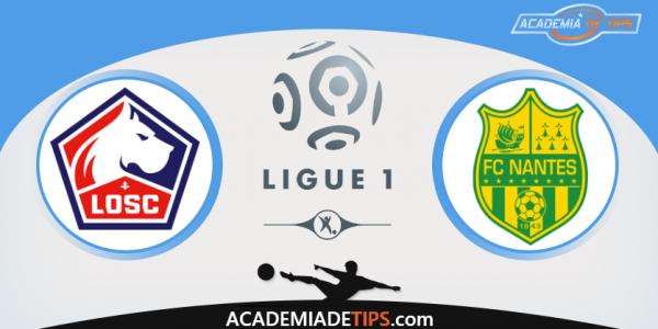 Lille x Nantes - Ligue 1 França - Prognóstico e Analise