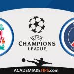 Liverpool x PSG  – Prognóstico – Liga dos Campeões
