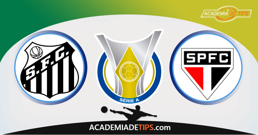 Santos x São Paulo - Prognóstico e Analise Brasileirão - Serie A