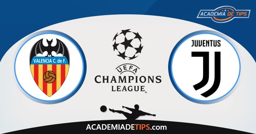 Valência vs Juventus - Prognóstico - Liga dos Campeões