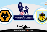 Wolverhampton x Burnley - Prognóstico - Premier League - Apostas Online