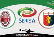 AC Milan x Génova, Prognóstico, Analise e Apostas - Serie A