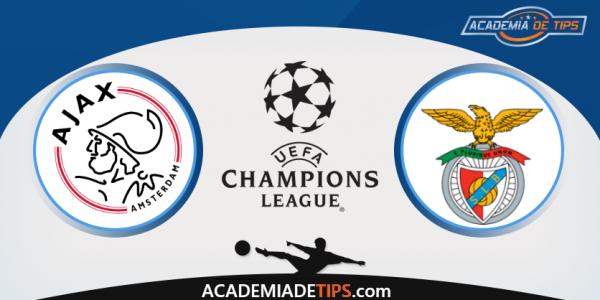 Ajax x Benfica, Prognóstico, Analise, UEFA Champions League