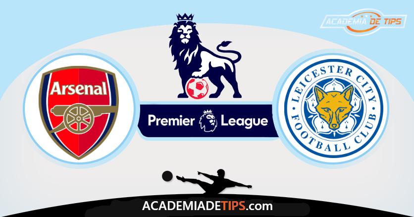 Arsenal x Leicester, Prognóstico, Analise e Apostas - Premier League